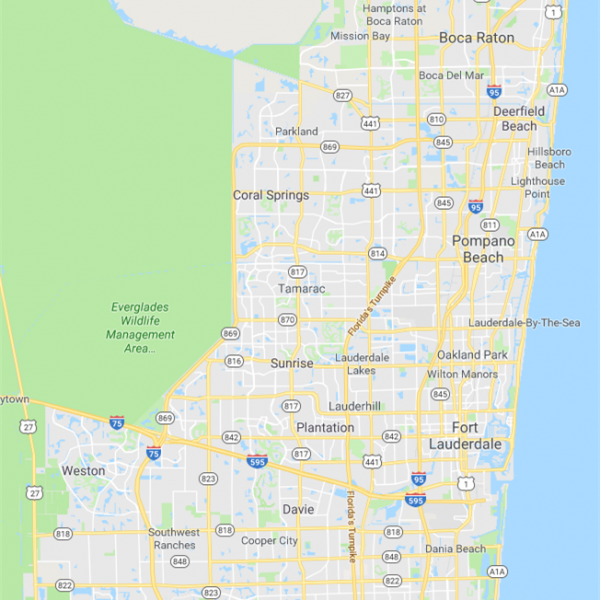 Coral Springs Service Areas
