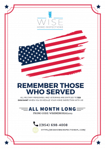 Wise Home Inspections Company in Coral Springs, FL - June 2019 Promo