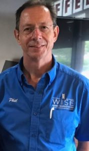 Licensed Home Inspector Phil Wise